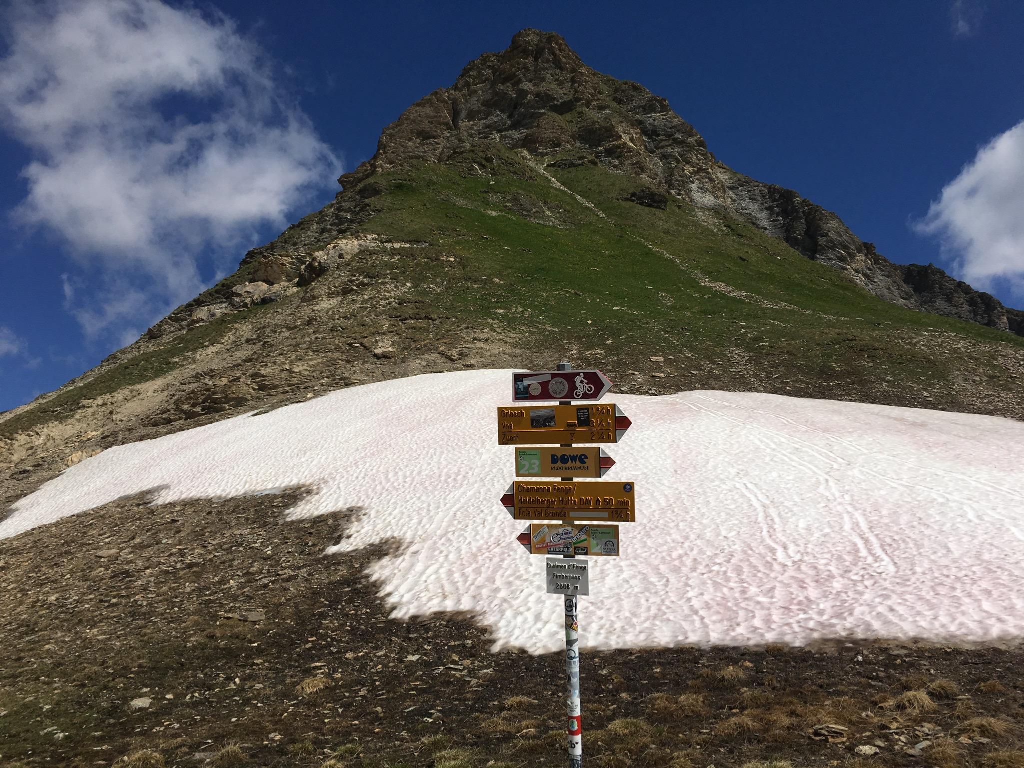 Alpen zum Ersten