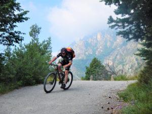 Letzte Kilometer bis zum Ziel am Gardasee