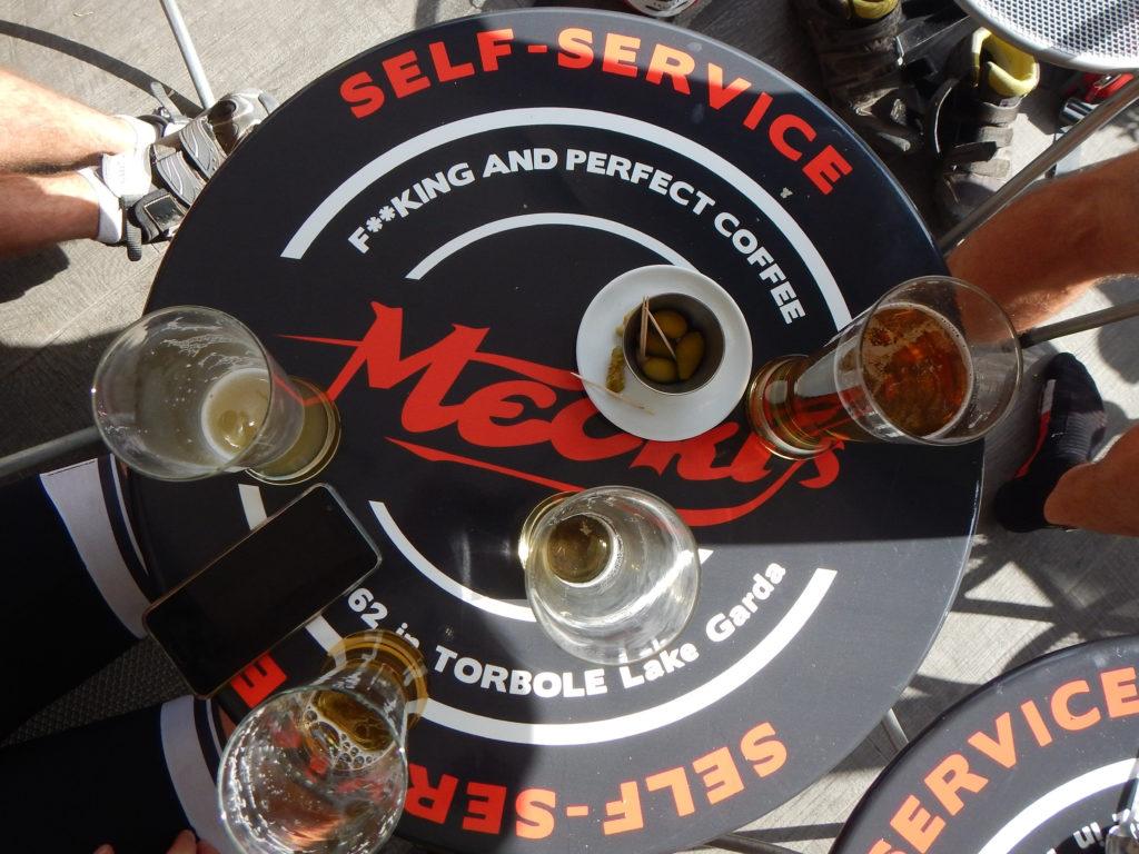 Bier statt Cola und Kaffee